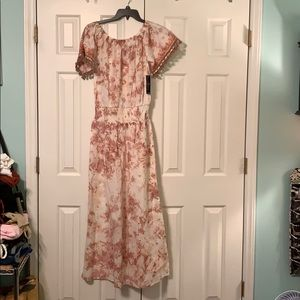 NWT TieDye cotton BoHo Dress
